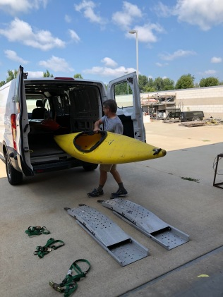 A kayak? What do we need that for? You'll see.